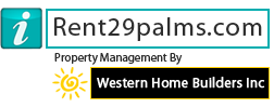 Rentals in 29 Palms